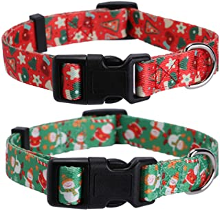 whippet collar  sweet candy christmas dog collar xmas collar fabric dog collar sighthound collar martingale collar or buckle