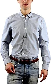 CR7CRISTIANO RONALDO–Camisa Camiseta Slim Fit, otoño/invierno, hombre, color gris claro, tamaño M amazon el-gris Primavera/Verano