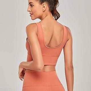 Women's New Sports Underwear Nude Skin-Friendly Fitness Running Shockproof Gathered Yoga Fitness Vest Bra