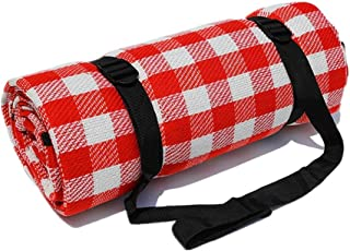 DelightFashion Picnic Blanket Foldable Sleeping Mat Waterproof Camping Hiking Beach Rug Travel Pocket Pad