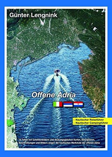 """Atlas \""""Offene Adria\"""" Nautischer Reise-+Campingführer"""