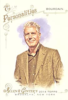 2014 Topps Allen & Ginter #210 Anthony Bourdain Baseball Card