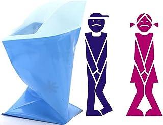 tobe-u Unisex Hombres Mujeres Niños breve Socorro desechable (paquetes de bolsas super absorbente para viajes Coche Traffic Jam Camping 4piezas