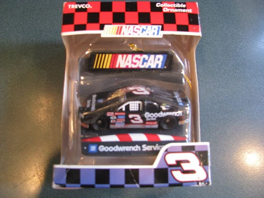 Dale 2021new shipping free Earnhardt Sr Miami Mall #3 Collectable GM Go Holiday Hanging Christmas
