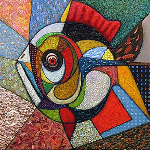 DIOPN 5D Diamond Painting boren u doe-het-zelf abstract Tai Chi Mandala schijf borduurwerk kruissteek mozaïek decor 40*50
