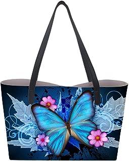 Waterproof Leather Tote Handbag Purse Women Top-handle Tote Bag Animal