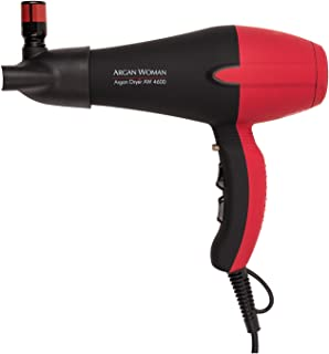 Argan Woman Professional Turbo Hair Blow Dryer With Argan Oil Nozzle To Synchronize Oil and Heat 1850w With Ionic Technology