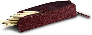 17 x 11 cm Pelle di Capra - Marrone Lucrin Piccolo Svuotatasche Rettangolare