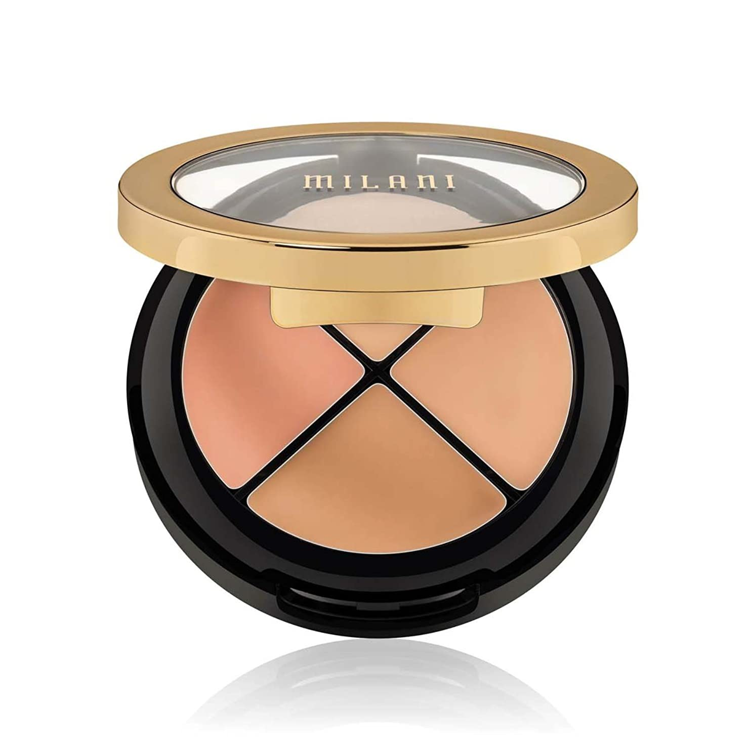 中庭割り当て人工的な(3 Pack) MILANI Conceal + Perfect All-In-One Concealer Kit - Light To Medium (並行輸入品)