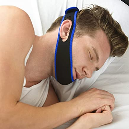 Snore Belt Stop Snoring Sleep Apnea Chin Jaw Support Strap for Woman Man Care Sleeping Tools