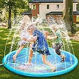 Fostoy Splash Pad, 68' Sprinkler für Kinder Splash Play Matte, Sommer Garten Wasserspielzeug Splash Spielmatte für Baby Kinder