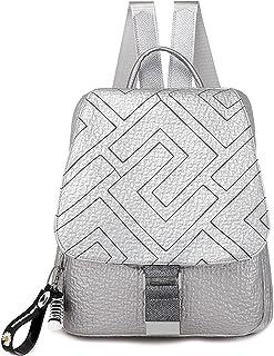 TEBIEAI Damen Rucksack Handtaschen Elegant Anti Diebstahl Frau Stadtrucksack Henkeltaschen Tagesrucksack TEDE83066