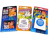 The One Stop Fun Shop Prankster 3 Pack - Fart Itch Sneeze Powder