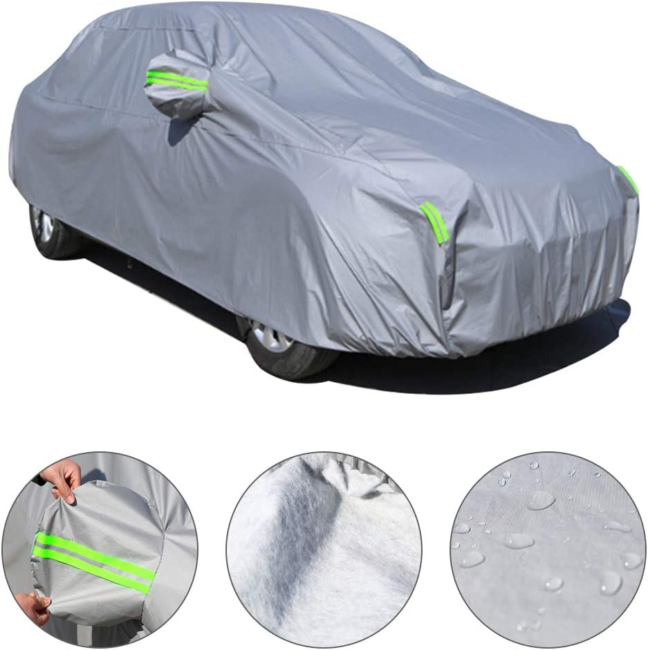 Yellow Special Car Cover for Audi A1 2010-2018 All Weather Water//Snow//Dust//Scratch Resistant UV Protection Outdoor/&Indoor Cover