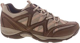 Easy Spirit Women's EXPLOREMAP Sneaker, Brown 230, 7.5 X-Wide