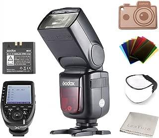 『技適マークを付き』Godox Ving V860IIN カメラフラッシュとXPro-Nフラッシュトリガー;2.4G TTLワイヤレスXシステム;GN60;高速同期が最大1/8000sに達する;リチウムイオン電池 (V860IIN+XProN (for Nikon DSLR))