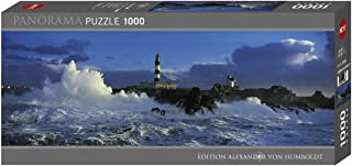 Heye - 29286 - Puzzle Classique - Panorama - Lighthouse le Créac'H - Alexander Von Humboldt - 1000 pièces