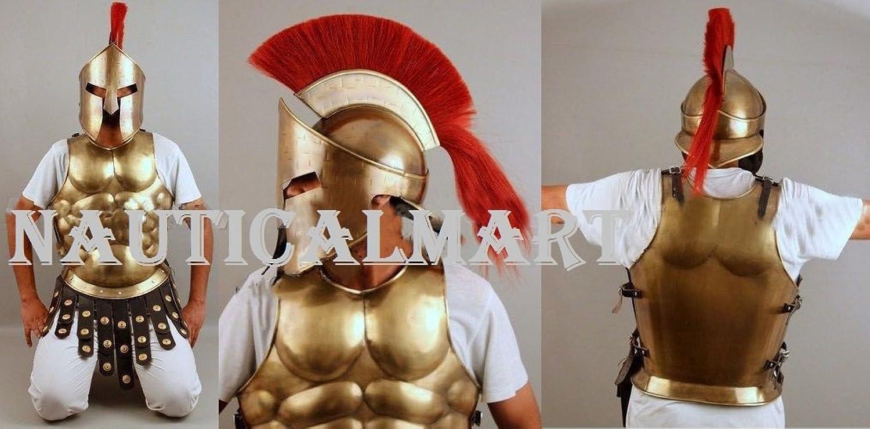 NAUTICALMART Greek Muscle Armor Cuirass Spartan for Halloween Costume