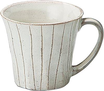 宗峰窯 マグカップ 粉引 十草 φ9.2×8.2cm(240cc) 755-11-463