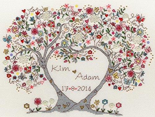 Bothy Threads 『クロスステッチキット Love Blossoms (ラブブラッサム)』
