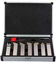 heaven2017 WNMG0804 Carbide Inserts Wrench Lathe Turning Tool Holder Set