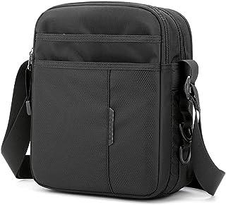 SPAHER Hommes Sacs d'épaule Sacs bandoulière en Nylon Sacoche Besace Messenger Bag Sac D'affaires Crossbody Sac de voyage ...