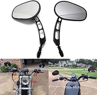 Htt moto Chrome Skull specchietti laterali per 1984/e Up Harley Davidson Touring Street Glide Road Glide Special Electra Glide ultra Classic ultra Limited