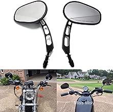 Bonnoeuvre 2 espejos 7//8 22mm retrovisores para motocicleta espejos circulares convexos para manillar de motocicleta