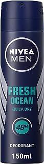 NIVEA Men Fresh Ocean Spray, 150 ml, 80052