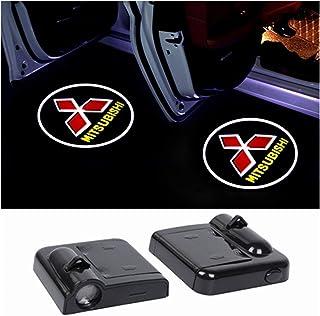Bienvenue Projecteur Voiture Porte LED porte Shadow Wireless voiture Bienvenue Lampe Projecteur compatible avec Mitsubishi...