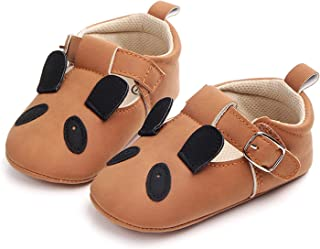 Baby Infant Cute Cartoon Animals Pattern Low-Top Soft Sole Sneakers Panda Dog Rabbit Piglet Flat Shoes (Color : G, Shoe Si...