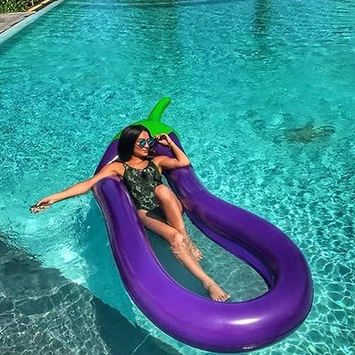 Aufblasbarer Schwimmring, Schwimmender Lounge Chair mit Netzgewicht 150kg für die Poolparty für Erwachsene Kinder