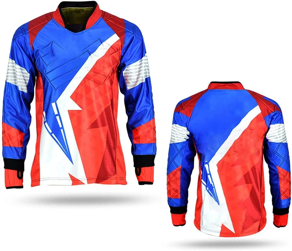 Sigma Sports Nexo Long At the price of surprise Max 48% OFF Sleeve Jerse Padded Lightweight Paintball