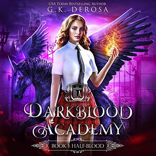 Darkblood Academy cover art