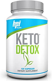 BPI Health Keto Detox - Apple Cider Vinegar, Green Tea Extract, Supports Detox & Cleanse, Weight Loss, Digestion, Ketogenic, Keto Friendly, Keto Diet,