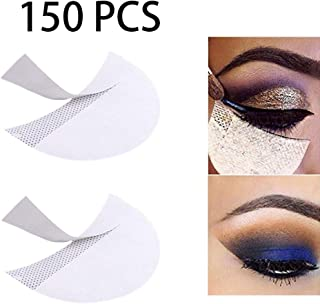 Ownest 150 pcs Eyeshadow Pads Stencils,Makeup Eye Shadow Stickers,Disposable Eye Patches, Eyes Lips Makeup Tool,Eye Shadow Auxiliary Tool