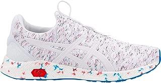 asics white running shoes