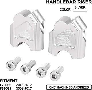 30mm Height for Yamaha XT250 2008-2019 Handlebar Risers 7//8 Bars
