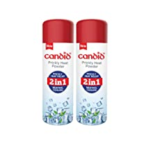 Candid Prickly Heat Powder 120g (Pack of 2), White