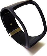 Original Genuine Oem Strap Bracelet Band for Samsung Galaxy Gear S R750 Watch (black)