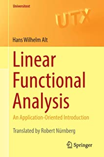 Linear Functional Analysis 2016: An Application-Oriented Introduction