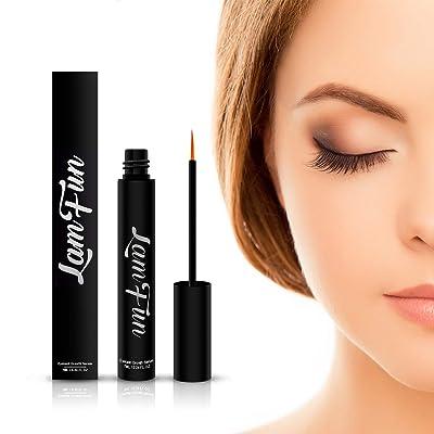 Eyelash Growth Serum, LamFun Natural Lash and B...