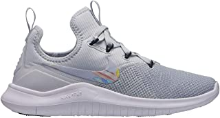Official Nike Free TR8 Print Training Shoes Womens Silver Fitness Gym Trainers Sneakers