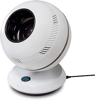 GreenTech Environmental PureFlow QT7 – Bladeless Quiet RC Oscillating Table Fan