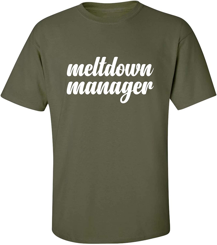 zerogravitee Meltdown Manager Adult Short Sleeve T-Shirt
