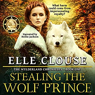 Stealing the Wolf Prince audiobook cover art