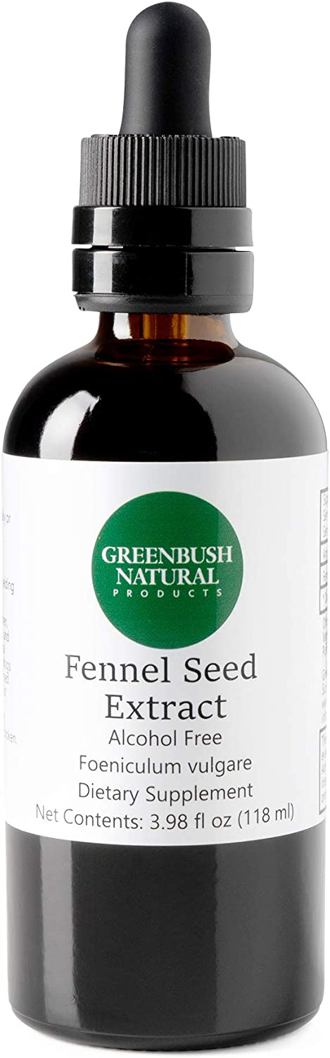 Greenbush San Francisco Mall Fennel Concentrate 4 Raleigh Mall oz Liquid 240 Extract Doses
