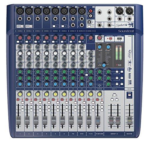 Price comparison product image Soundcraft Signature 12 Mixer