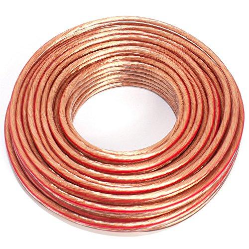 avis cable enceintes hifi professionnel Câble audio 2x 2,50 mm2 2,50 mm2-10m transparent
