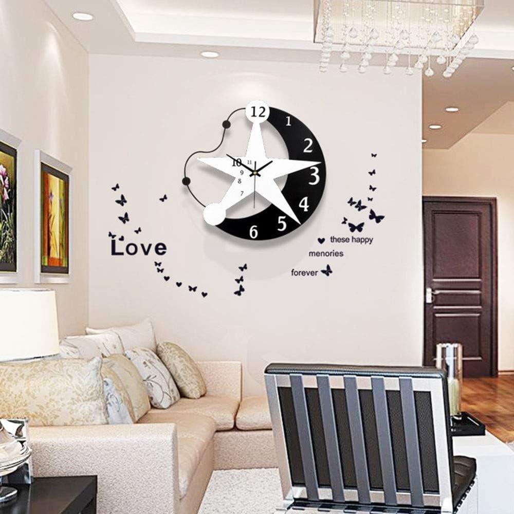 YiCan Wall Max 78% OFF Clocks Clock Cartoon Watches Simple Fashion Creative Max 67% OFF
